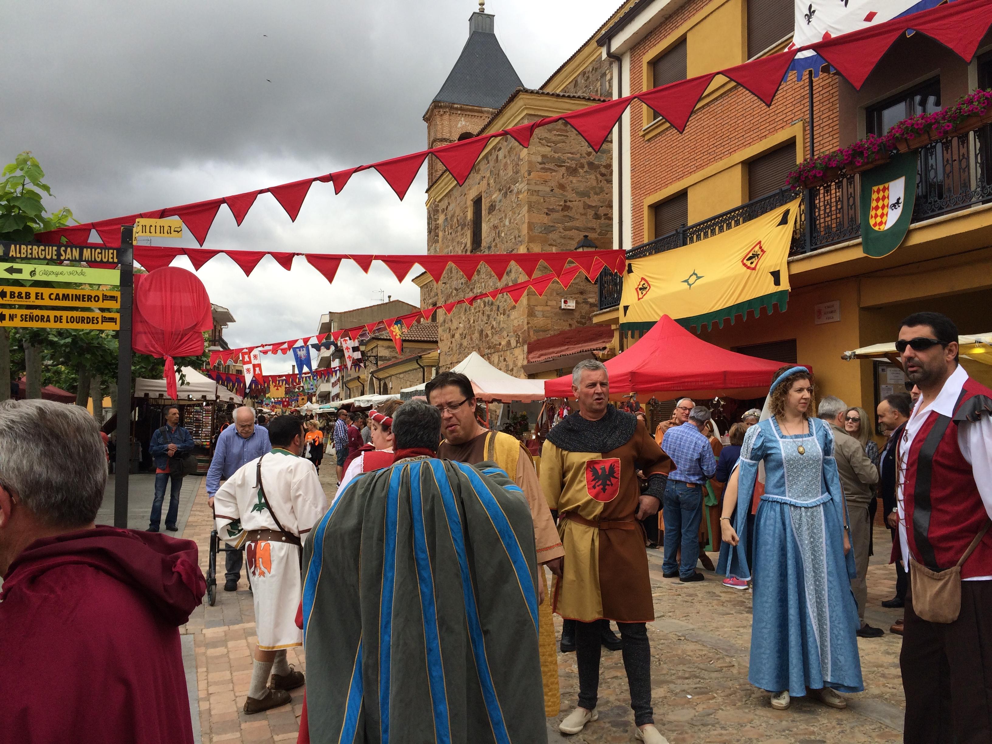 Day 31 - Villar de Mazarife to Santibáñez de Valdeiglesias - June 4, 2017
