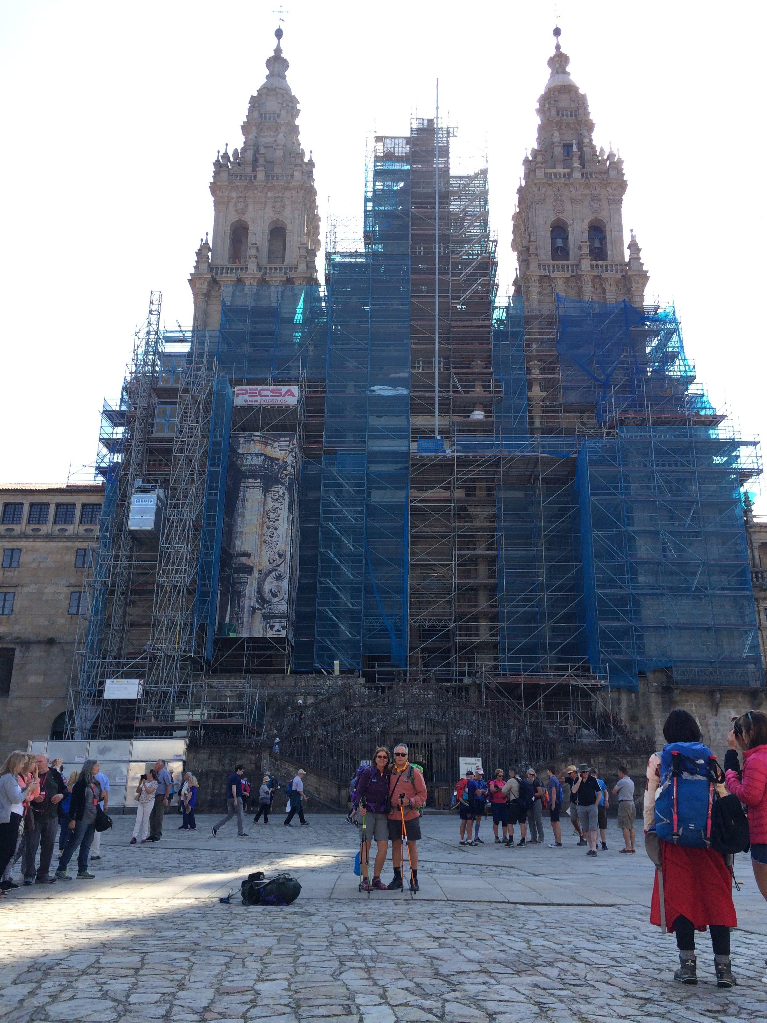Day 43 - Lavacolla to Santiago de Compostela - June 16, 2017